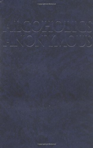 Alcoholics Anonymous  4th 2002 9781893007178 Front Cover