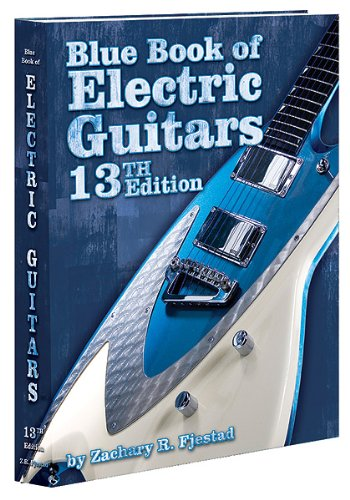 Blue Book of Electric Guitars  13th 2011 9781936120178 Front Cover