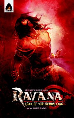 Ravana - Roar of the Demon King  N/A 9789380741178 Front Cover