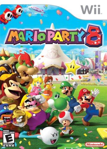Mario Party 8 Nintendo Wii artwork