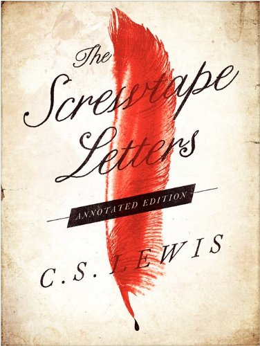 Screwtape Letters   2013 (Annotated) edition cover
