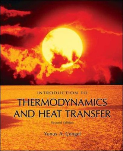 Introduction to Thermodynamics and Heat Transfer  2nd 2008 edition cover