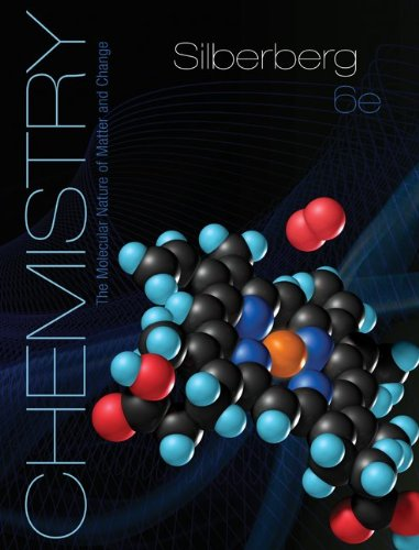 Chemistry The Molecular Nature of Matter and Change 6th 2012 edition cover