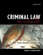 CRIMINAL LAW IN CANADA >CANADI 4th 2006 edition cover