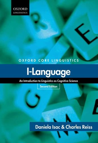 I-Language An Introduction to Linguistics As Cognitive Science 2nd 2013 edition cover