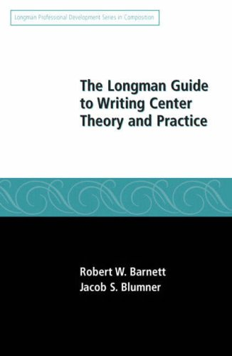 Longman Guide to Writing Center Theory and Practice   2008 edition cover