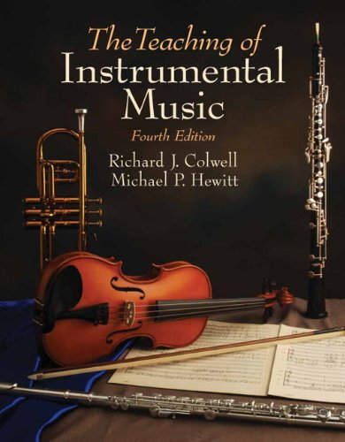 Teaching of Instrumental Music  4th 2010 (Revised) edition cover