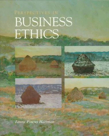 Perspectives in Business Ethics  1st 1998 9780256233179 Front Cover