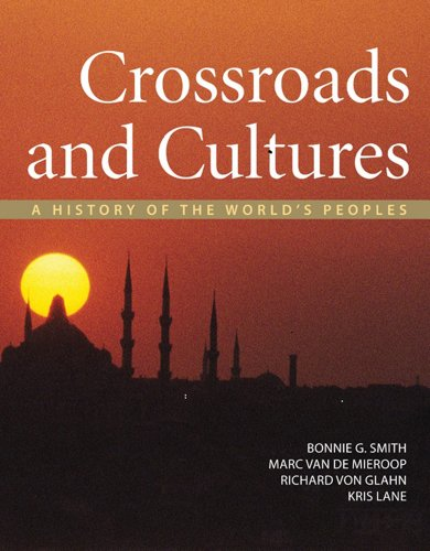 Crossroads and Cultures A History of the World's Peoples  2012 edition cover