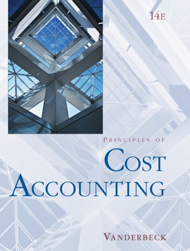 Cost Accounting  14th 2008 edition cover