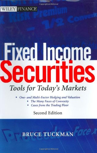 Fixed Income Securities Tools for Today's Markets 2nd 2002 (Revised) 9780471063179 Front Cover