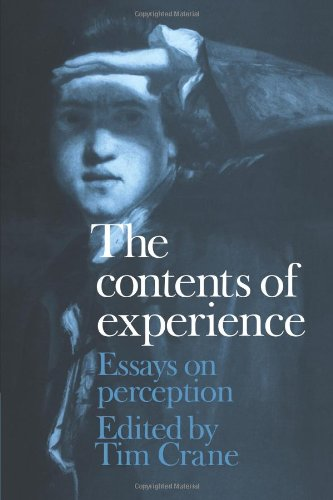 Contents of Experience Essays on Perception  2010 9780521173179 Front Cover