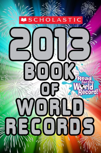 Scholastic Book of World Records 2013  N/A 9780545425179 Front Cover