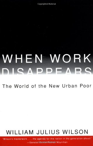 When Work Disappears The World of the New Urban Poor  1996 edition cover