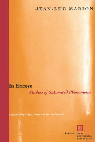 In Excess Studies of Saturated Phenomena 2nd 2004 edition cover