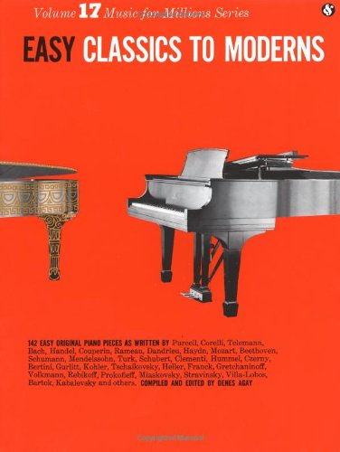 Easy Classics to Moderns  N/A edition cover