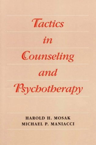 Tactics in Counseling and Psychotherapy   1998 9780875814179 Front Cover