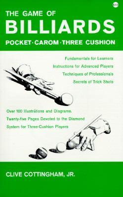 Billiards : Pocket-Carom-Three Cushion Reprint 9780879803179 Front Cover