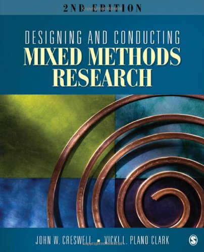 Designing and Conducting Mixed Methods Research  2nd 2011 edition cover