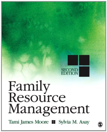 Family Resource Management  2nd 2013 edition cover