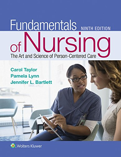 Fundamentals of Nursing (Us Ed)  9th 2019 (Revised) 9781496362179 Front Cover
