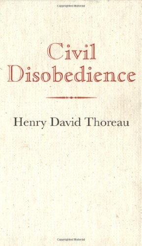 Civil Disobedience  N/A edition cover