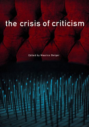 Crisis of Criticism   1998 edition cover