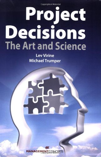 Project Decisions The Art and Science  2008 edition cover
