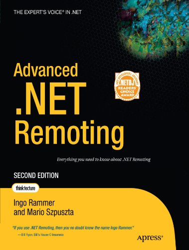 Advanced . NET Remoting  2nd 2005 edition cover