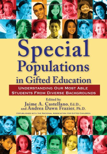 Special Populations in Gifted Education Understanding Our Most Able Students from Diverse Backgrounds  2010 edition cover
