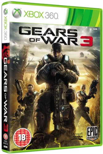 Microsoft Gears Of War 3 (Xbox 360) Xbox 360 artwork