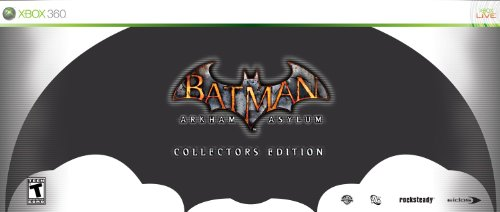 Batman: Arkham Asylum - Collector's Edition, Xbox 360 Xbox 360 artwork