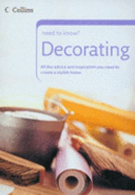 Decorating (Collins Need to Know?) N/A edition cover