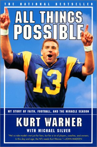 All Things Possible My Story of Faith, Football and the Miracle Season  2000 (Reprint) edition cover