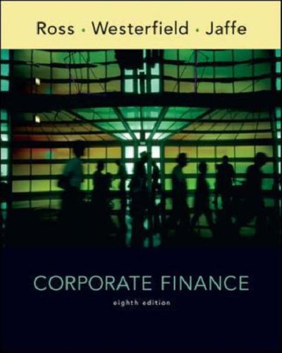 Corporate Finance  8th 2008 (Revised) edition cover