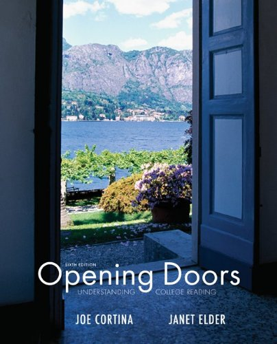 Opening Doors  6th 2011 edition cover