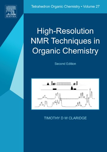 High-Resolution NMR Techniques in Organic Chemistry  2nd 2008 edition cover