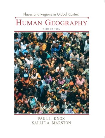 Places and Regions in Global Context Human Geography 3rd 2004 edition cover