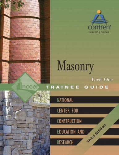 Masonry, Level 1  3rd 2006 edition cover