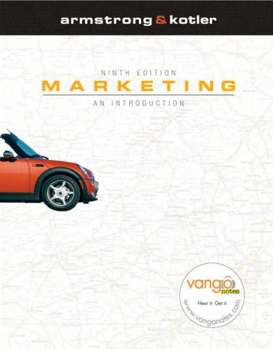 Marketing An Introduction and MyMarketingLab Package 9th 2009 9780138157180 Front Cover