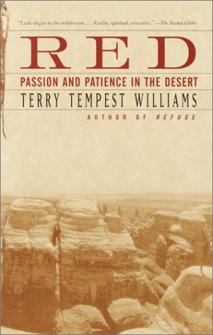 Red Passion and Patience in the Desert  2002 edition cover