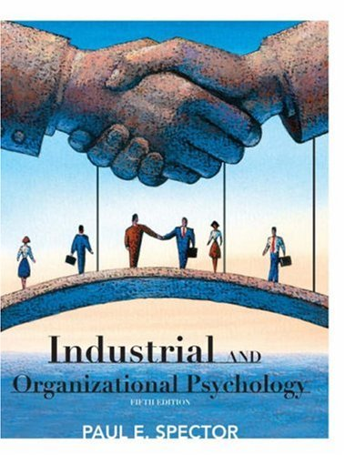Industrial and Organizational Psychology  5th 2009 edition cover