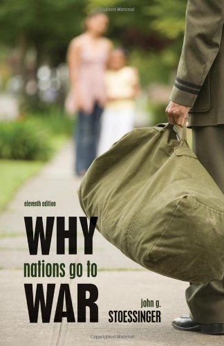 Why Nations Go to War  11th 2011 edition cover