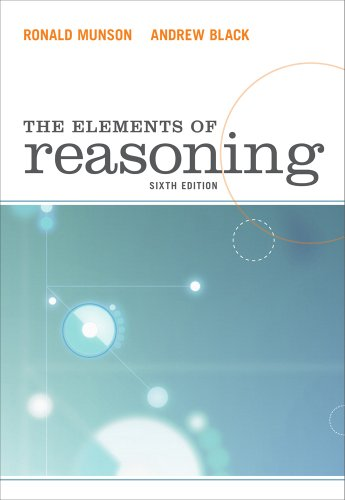 Elements of Reasoning  6th 2012 edition cover