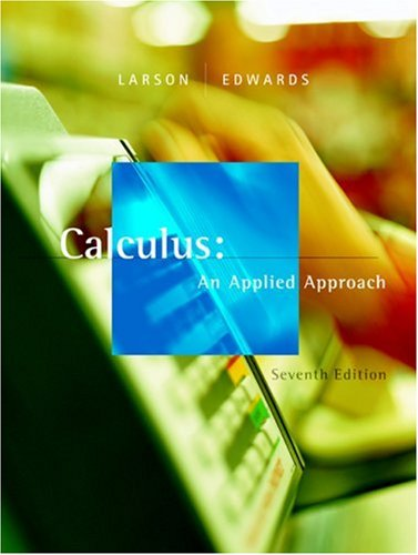 Calculus An Applied Approach 7th 2006 edition cover