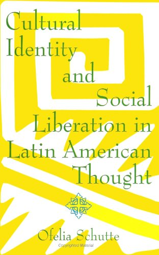 Cultural Identity and Social Liberation in Latin American Thought  N/A edition cover