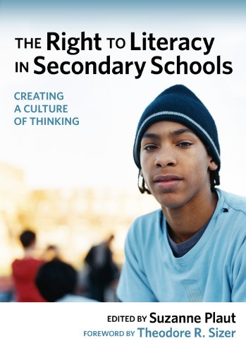 Right to Literacy in Secondary Schools Creating a Culture of Thinking  2008 edition cover