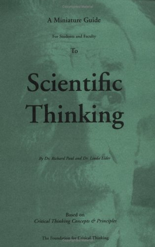 Thinker's Guide Series / Scientific Thinking  N/A edition cover
