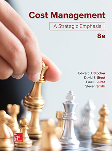 Cost Management: A Strategic Emphasis  2018 9781260165180 Front Cover