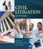 Civil Litigation:   2014 9781285449180 Front Cover